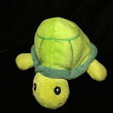 "Oriental Trading Company Green Turtle Plush Soft Toy Stuffed Animal 8"""