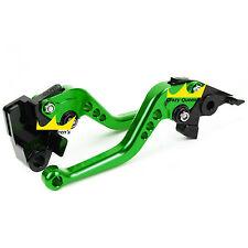 For Kawasaki VERSYS (650cc) 2009-2014 CNC Brake Clutch Levers Set Green 2010 US