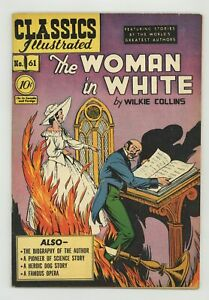 Classics Illustrated 061 The Woman in White 1A VG+ 4.5 1949