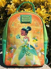 Sac A Dos LOUNGEFLY TIANA PRINCESSE GRENOUIlle Disney  backpack Disneyland Paris