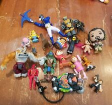 Lot of Action Figures and Toys TMNT Power Rangers