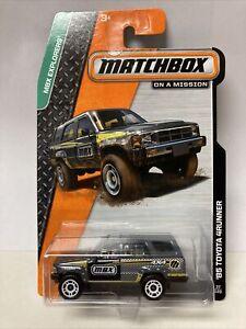 2014 Matchbox #37 MBX Explorers Gray '85 Toyota 4Runner