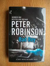 Peter Robinson Bad Boy 1st ed UK HC SIGNED