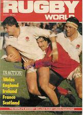 Mundial De Rugby Revista de marzo de 1983-Regalo Perfecto Para Un Fan nacido en este mes