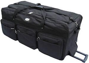 "Large 42"" Rolling Wheeled Duffel Bags Luggage Oversized Jumbo Heavy Duty 8999"