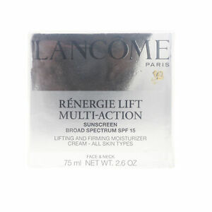 Lancome Renergie Lift Multi-Action Sunscreen Spf 15  2.6oz/75ml New In Box