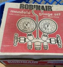Robinair 2 Way Manifold Gauge Set With 36 In Hoses Model 40155 Refrigerant Usa
