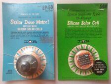 Vtg IR EP-50 Solar Drive Motor & S4M Silicon Cell NOS