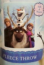 BRAND NEW**DISNEY FROZEN KIDS**FLEECE THROW 117 x 152 cm