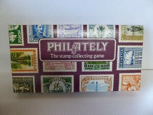 Philately The Stamp Collecting Board Game - Dixon Games 1972 - Complete