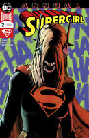 SUPERGIRL ANNUAL #2 dc comics Metal BATMAN LAUGHS 1ST PRINT