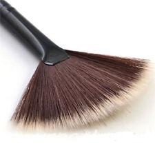 Pro Fan Shape Makeup Cosmetic Brush Blending Highlighter Contour Face Powder New