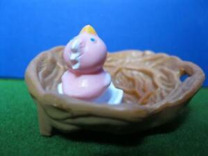 1994 ViNtAgE LiTtLeSt PeT ShOp Playset Chirpy Birds Nesting Home-BABY IN NEST