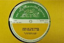 BBC 260 261 Transcription Disc TOP PICK OF THE POPS David Bowie DAVE Joe Cocker