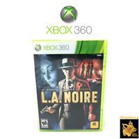 L.A. Noire  (2011)  Xbox 360 Video Game With Disc Case Manual Tested Works