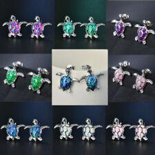 Opal Stone Costume Earrings