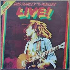 LP Bob Marley And The Wailers - Live! (2) - Italien 1975 - VG to VG++