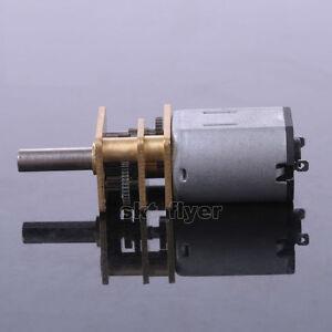 DC 6V 30RPM Metal Gear DC Motor with Gearwheel Model: N20 RC Model Vehicle Parts