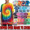 Youth Tie Dye T-Shirt Tye Died Spirals Tee XS, S, M, L, XL Boys Girls Kids Child