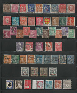 France Mixed Old Stamps