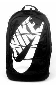 """NIKE HAYWARD 2.0 Backpack Black/White BA5883-013 (size 19""""x13""""x9) NWT"""