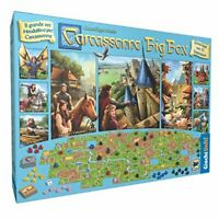 Carcassonne Big Box Edition, United Games  2017 GU572 Board Game, 2 To 6 Players
