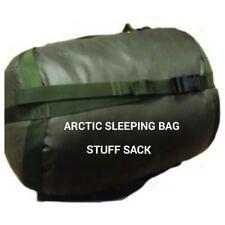 BRITISH ARMY ISSUE ARCTIC STUFF SACK - USED - GENUINE ISSUE - SLEEPING BAG