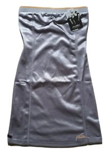 AUTHENTIC FUBU DRESS BASKETBAL SILVER SLEEVELESS SIZE 10 NEW WITH TAGS RARE