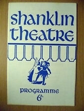 SHANKLIN THEATRE PROGRAMME 1969- M ANKETELL in SPIDER'S WEB by AGATHA CHRISTIE