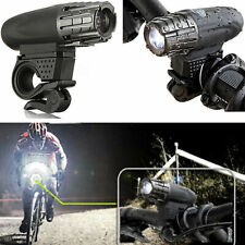 Bright USB Rechargeable LED Bicycle Bike Front Light Headlight Lamp Waterproof