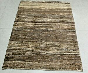 New handmade nomadic woolen rugs . Size: 3.44 x 4.79 ft - 146 x 105  cm