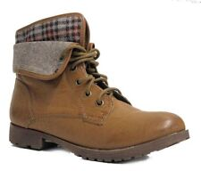 Rock&Candy Women's Spray paint Foldover Brown US 7.5 NOB