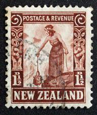 Timbre NOUVELLE-ZELANDE / Stamp NEW ZELAND - Yvert et Tellier n°195 obl (Cyn22)