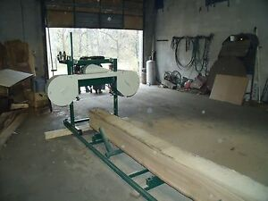 BAND SAWMILL PLANS, BUILD IT YOURSELF COMPLETE FABRICATING  INSTRUCTIONS