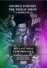 GEORGE FORMBY THE FRIDAY SHOW COMPLETE HIS LAST SOLO PERFORMANCE DVD