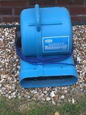 More details for drieaz sahara pro turbo dryer air mover snail blower fan building carpet flood
