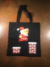 8 Bit Santa Clause Bag Q-tees Of California
