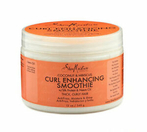 Shea Moisture Coconut & Hibiscus Curl Enhancing Smoothie 12oz (5 Pack) FREE SHIP