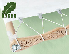 Side stretch canvas for hoop-frame and machine embroidery