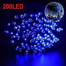 200 LED Solar Lichtschlauch Lichterkette Außen Innen IP65 Garten Party 22M