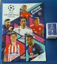 UEFA  CHAMPIONS LEAGUE SEASON 2018/19 Complete 595 Stickers TOPPS