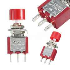 Mini Momentary Push Button On/off Toggle Switch SPDT NO NC 5A 120V 2A 250V 3pin