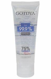 BULK 50 PACK Hand Sanitiser Gel 75% Alcohol 80ml Anti Bacterial Sanitizer