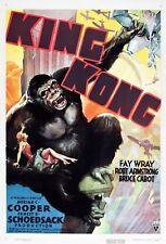 King Kong und die weiße Frau (1933)   US Import Filmplakat Poster 68x98 cm