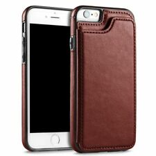 Leather Flip Wallet Card Holder Case Cover For Apple iPhone 8 7 6s Plus iPhone X