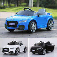 For Audi 12V Kids Ride On Truck Car w/Remote Control LED Light 2 Speed MP3 Music