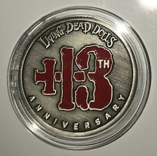 Living Dead Dolls Limited Edition 13th Anniversary Silver Sadie Coin 1998-2011
