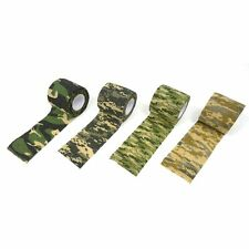 Outdoor Military Tactical Hunting Army Camo Camouflage Wrap Stealth Sticky Tape