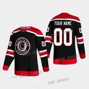 Chicago Blackhawks Jersey 2020-21 Reverse Retro Toews,Kane,Keith,DEBRINCAT
