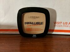 (1) NEW Loreal Infallible Pro-Matte Matte Finish Powder #300 Nude Beige